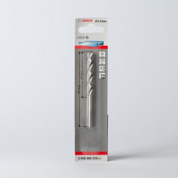 Сверло по металлу 5,5мм, BOSCH