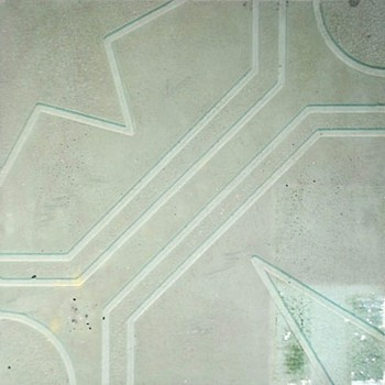 Плитка тротуарная Ажурная зеленая(300х300х30)