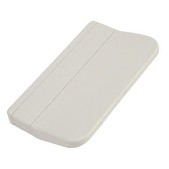 Ручка пластиковая для балконной двери белая, 1шт