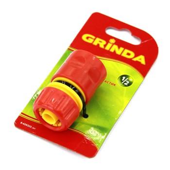"""Соединитель GRINDA из ударопрочной пластмассы, 1/2"""""""