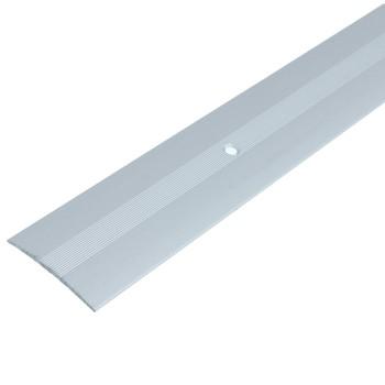 Порожек ПС03 (37х3,5) (ПС03, 2700.01п, серебро полиэфир)