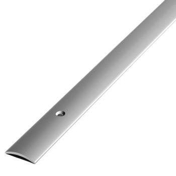 Порожек ПС02 900.01л, серебро люкс