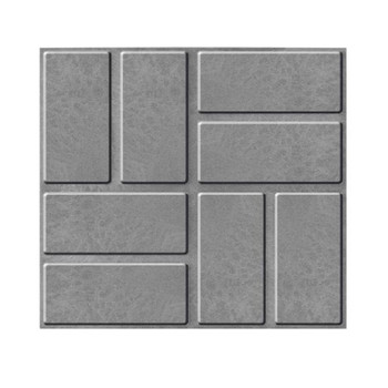 Плитка тротуарная полимерпесчаная 330х330х30 мм серая