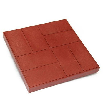 Плитка тротуарная полимерпесчаная 330х330х30 мм красная