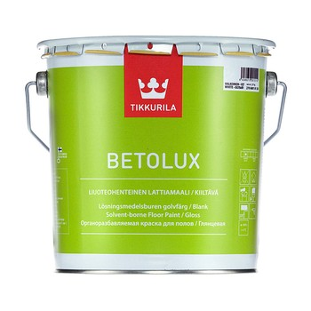 Краска Тиккурила Бетолюкс алкидная гл./база А/, 9 л
