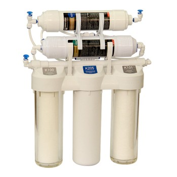 Фильтр Praktic OU500 обратный осмос 5-ти ступ.очистка (К100, К205, К101, К867, К875, накопит.бак 3,2л, керамич.кран) НОВАЯ ВОДА