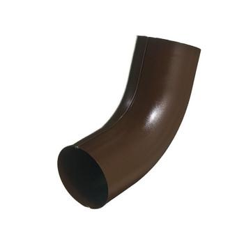 Колено трубы Ø90 (RAL 8017-0,6) шоколад