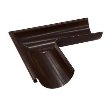 Угол желоба наружный 90°, Ø125 (8017-0,5) шоколад