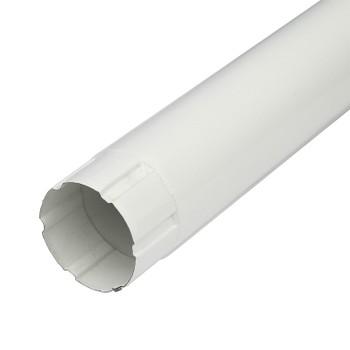 Труба соединительная Ø 90 (RAL 9010-0,5) белый