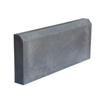 Бордюр тротуарный полимерпесчанный 500х200х50 мм, серый