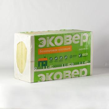 Утеплитель Эковер Вент-Фасад 70 1000x600x100 мм 4 штуки в упаковке