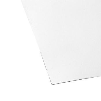 Лист плоский (ПЭ-9003-0,45мм) 1,25х2 белый
