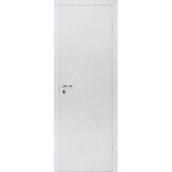 Дверное полотно 800х2000мм ОЛОВИ Белое Гост с замком 2014