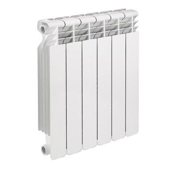 Радиатор алюм. OCTOBER LUX 500-6 (глубина 78)