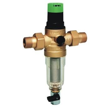 """Фильтр миниплюс, с редуктором, на холодную воду, 100 мкм ,FK06-1/2""""AA Honeywell"""