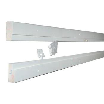 Дверная коробка стоевые 2 петли М21 ОЛОВИ крашенная Белая