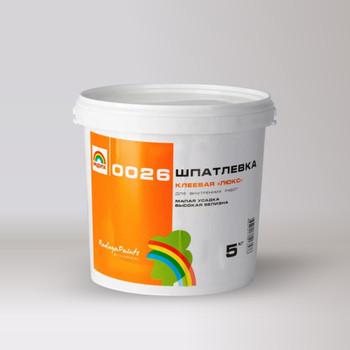 Шпаклевка масляно-клеевая Радуга-0026 Люкс 5 кг