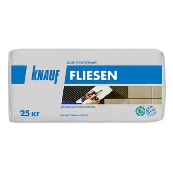 Клей для плитки (С0) Кнауф Флизен цемент, 25 кг