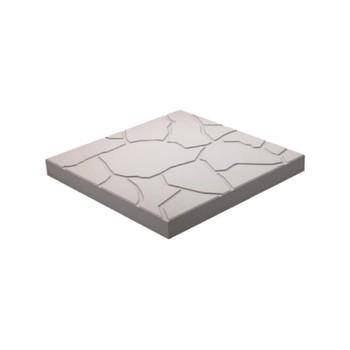 Плитка тротуарная Песчаник ЭКО-плит 300*300*30, серый