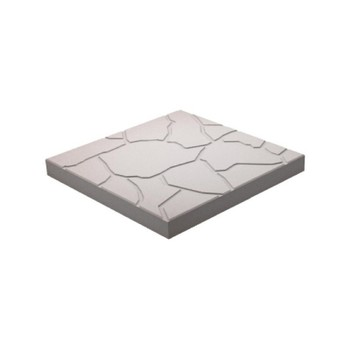 Плитка тротуарная Песчаник, 300х300х30мм серый