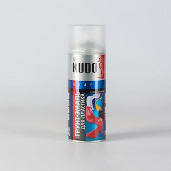 Грунт-эмаль для пластика KUDO черная (6002) 0,52л