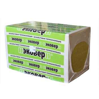 Утеплитель Эковер Вент-Фасад 80 1000х600х50 мм 8 штук в упаковке