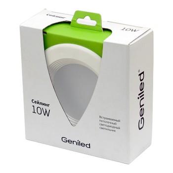 Светильник светодиодный встраиваемый Сейлинг 10Вт 4500К GENILED