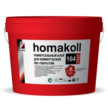 Клей Homakoll 164 Prof, 20 кг. 300-350гр/м2,для коммерческого линолеума, морозостойкий