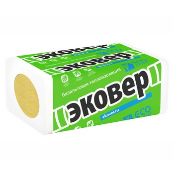 Утеплитель Эковер Фасад-Декор Оптима 135 1000x600x100 мм 3 штуки в упаковке
