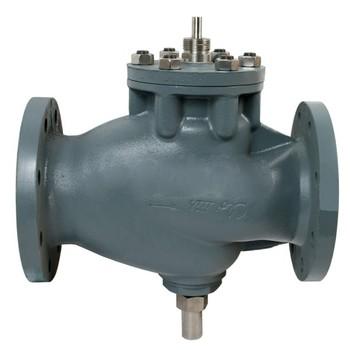 Клапан регулирующий чугунный ф/ф Ду65 Ру16 M2F-065 Clorius