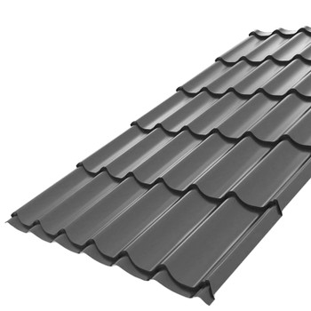 Металлочерепица Монтеррей 1,19* (ВИК-7024-0,45 мм) серый графит