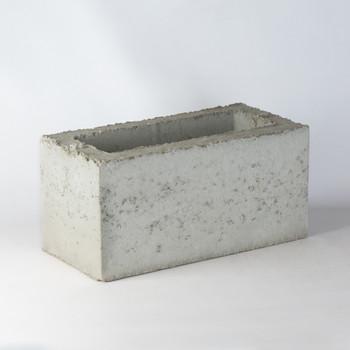 Блок керамзитобетонный вентиляционный 1-канальный 390х190х188 мм