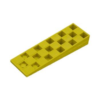Клин монтажный 25×150×45 желтый (10 шт)