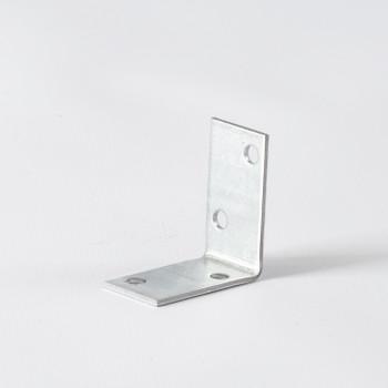 Уголок крепежный равносторонний 40x40x20x2 мм ШК