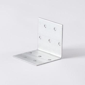 Уголок крепежный равносторонний 50x50x50x2 мм ШК