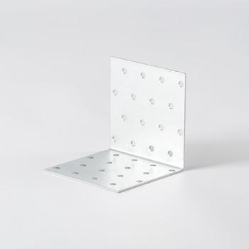 Уголок крепежный равносторонний 80×80×80×2мм ШК