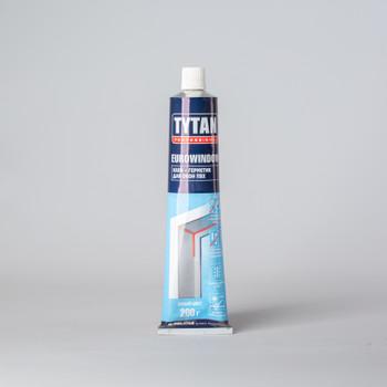 Клей-герметик для окон ПВХ Tytan, 200 гр
