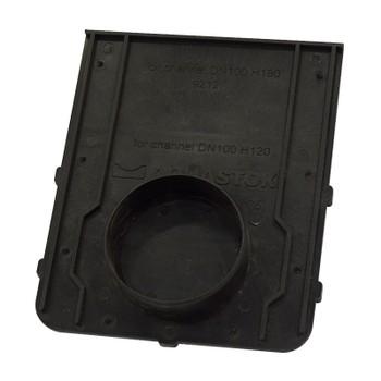 Заглушка пластиковая DN 100 Н120