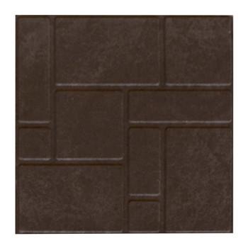 Плитка тротуарная полимерпесчаная 330х330х35 мм коричневая