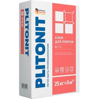 Клей для плитки Плитонит B pro, 25 кг