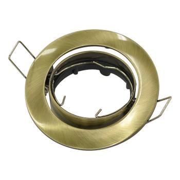 Точечный светильник поворотный 104S SB бронза Ambrella