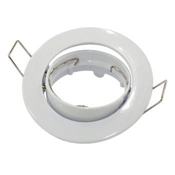 Точечный светильник поворотный 104S WH белый Ambrella