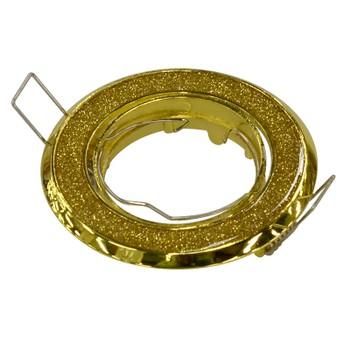 Точечный светильник поворотный 611A GD/GD золото блеск/золото Ambrella
