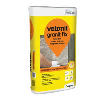 Клей для плитки weber.vetonit granit fix, 25 кг