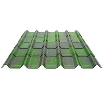 Черепица Ондувилла 3D 1060х400х3мм зеленый