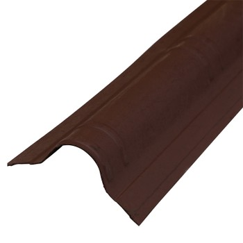 Конек Ондувилла 1060 х 194 мм коричневый