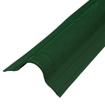 Конек Ондувилла 1060 х 194 мм зеленый