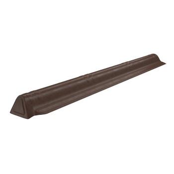 Торцевой конек Onduvilla 1060 х 175 мм коричневый