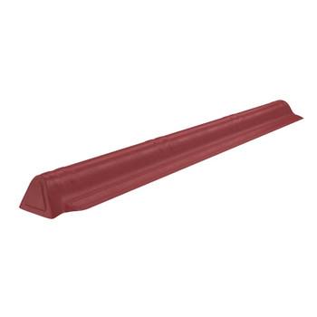 Торцевой конек Ондувилла 1060 х 175 мм красный