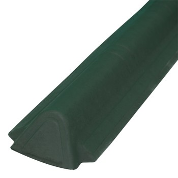 Торцевой конек Ондувилла 1060 х 175 мм зеленый